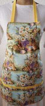 bunnies childrens apron