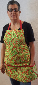 hot stuff cotton apron for men and women
