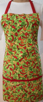 hot peppers cooking apron