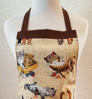 kitten apron top