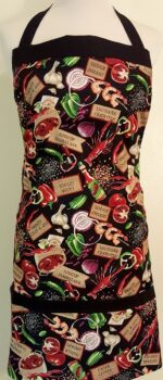 Savory Cajun apron with pockets