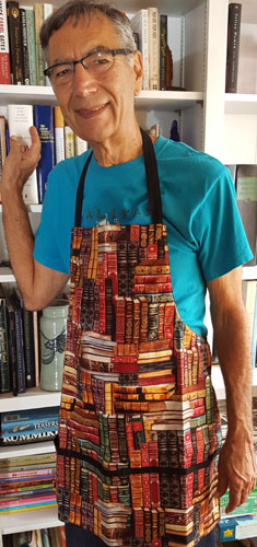 book apron for men and women