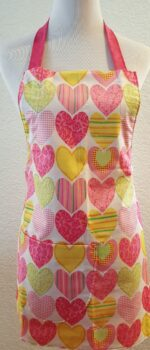 kids feeling groovy apron with pockets