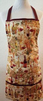 tuscany wine apron