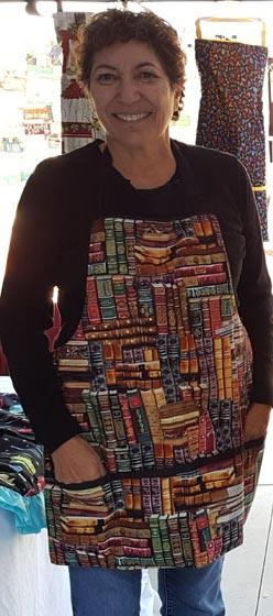 Carol Hidalgo's aprons