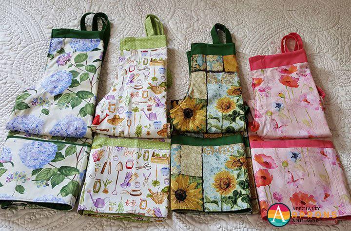 4 spring aprons
