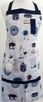 true blue grillmaster apron