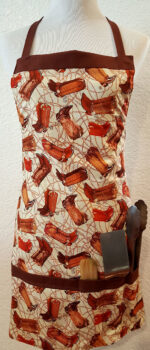 cowboy boots apron