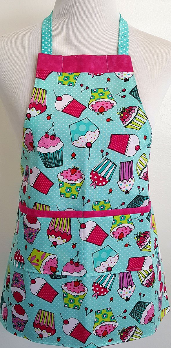 cupcake apron for small kids