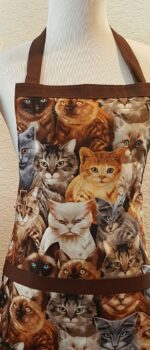 cat apron for kids