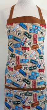 Retro Route 66 for Kids Apron