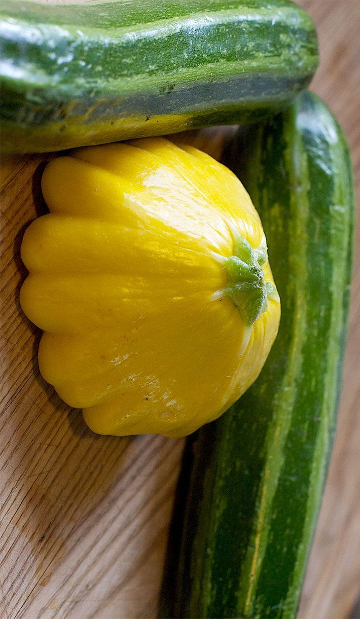 patty pan with zukes
